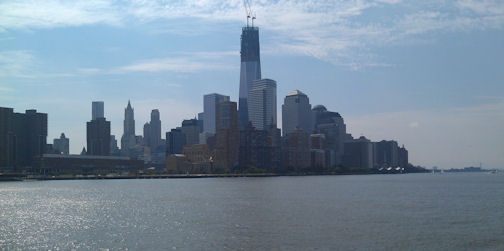 A Hudson River View of NYC