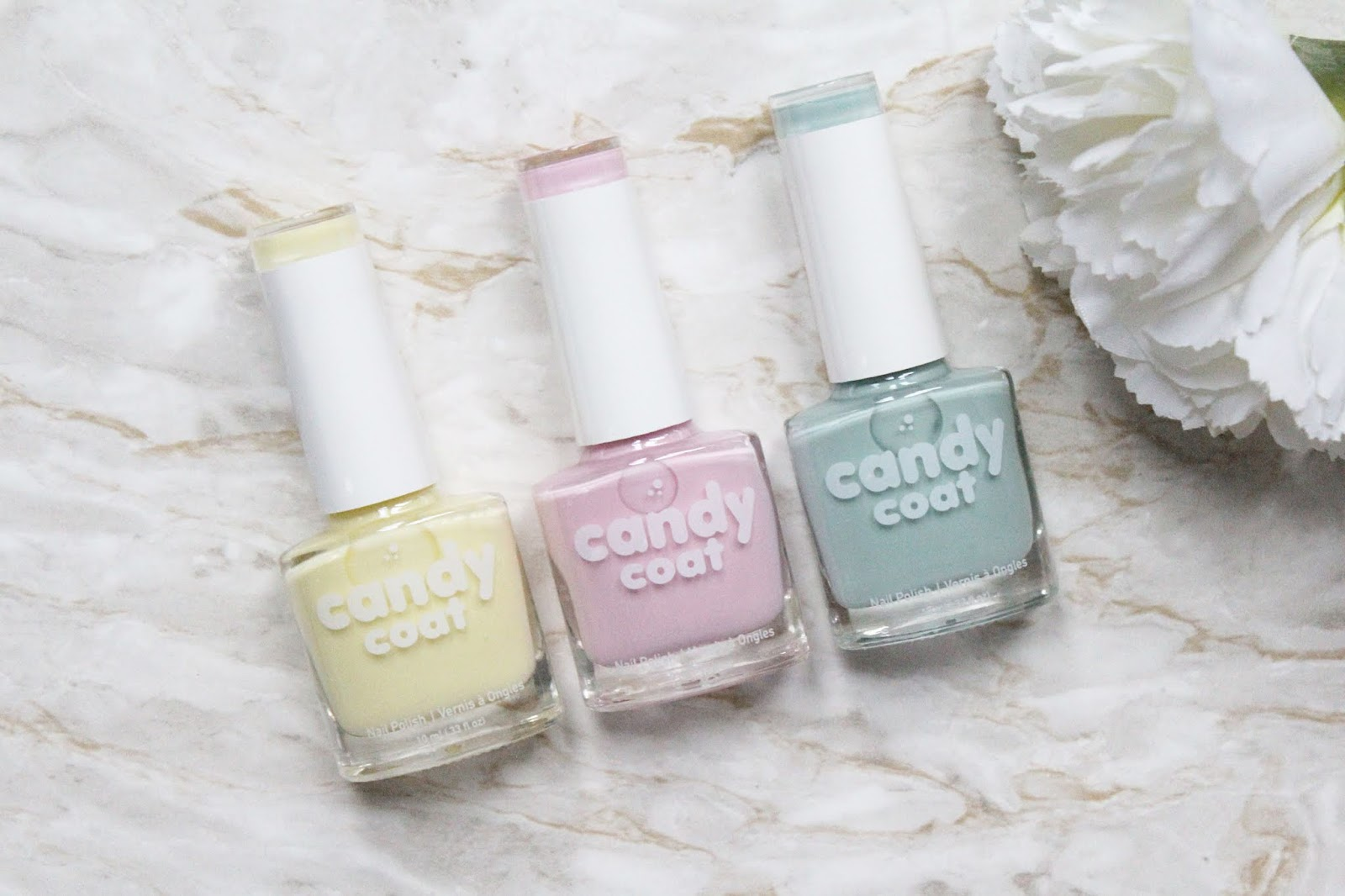 Candy Coat Nail Polishes