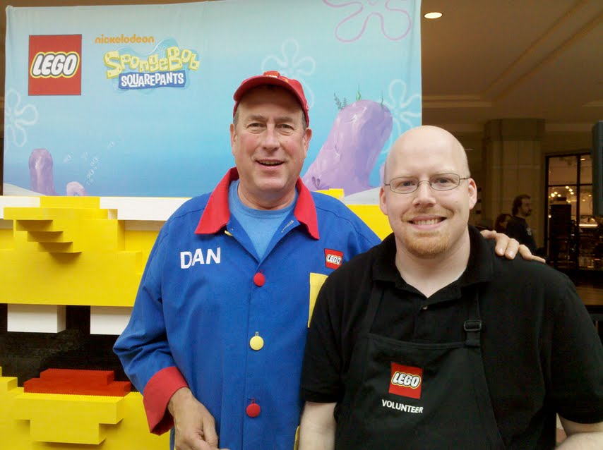 Buried in Bricks: Milwaukee LEGO Store - Grand Opening report