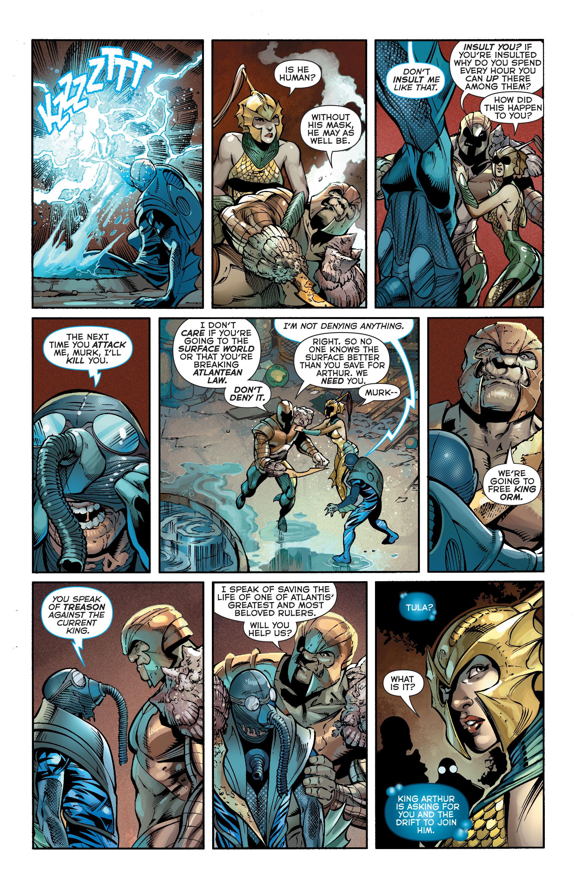 Read online Aquaman (2011) comic -  Issue #19 - 12