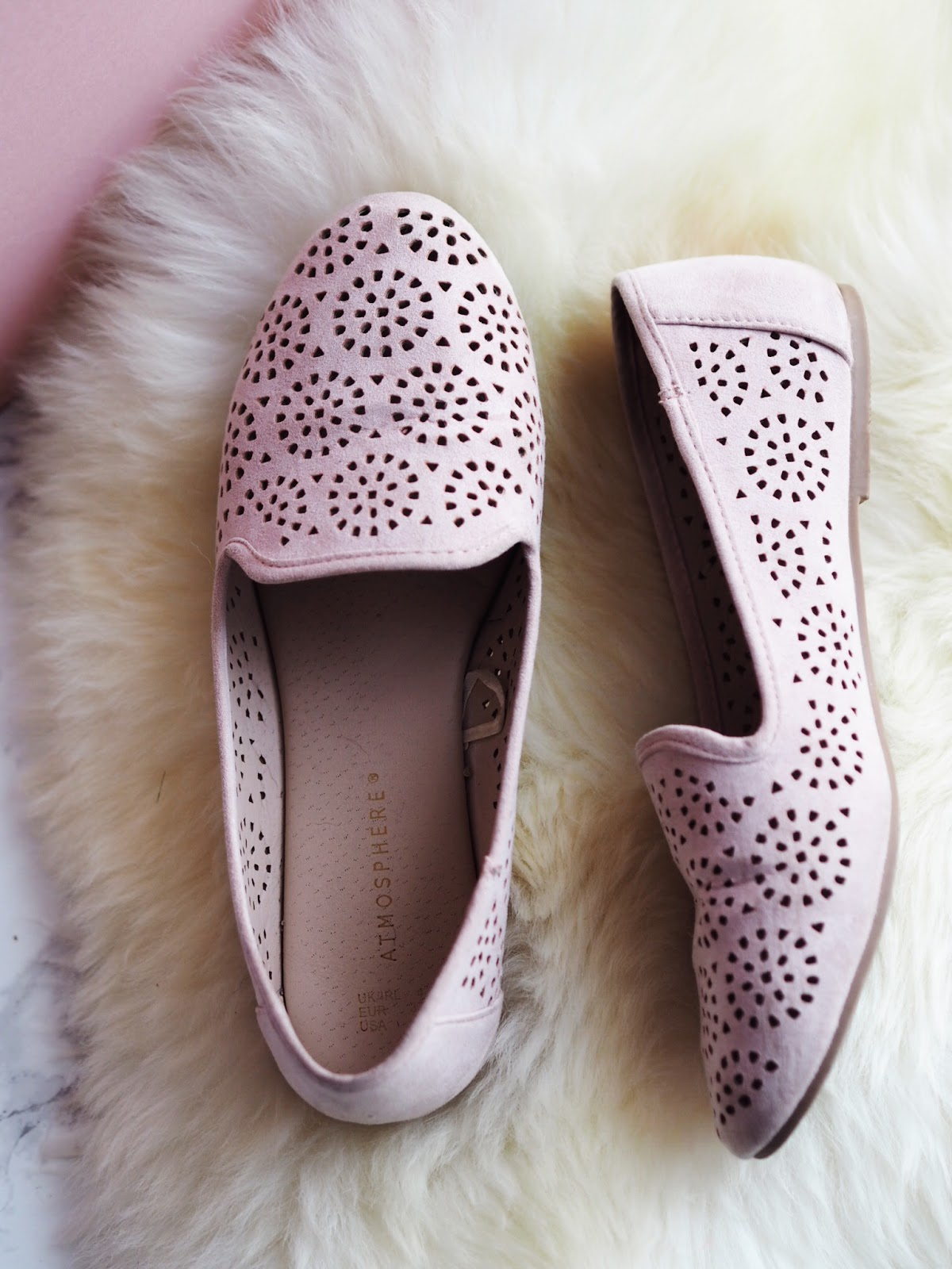 Summer Shoe Staples Primark Laser Cut Nude Loafers Shoes