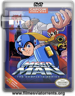 Mega Man 1ª e 2ª Temporada Torrent - DVDRip