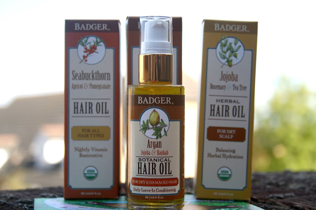 New Badger Hair Rescue Oils