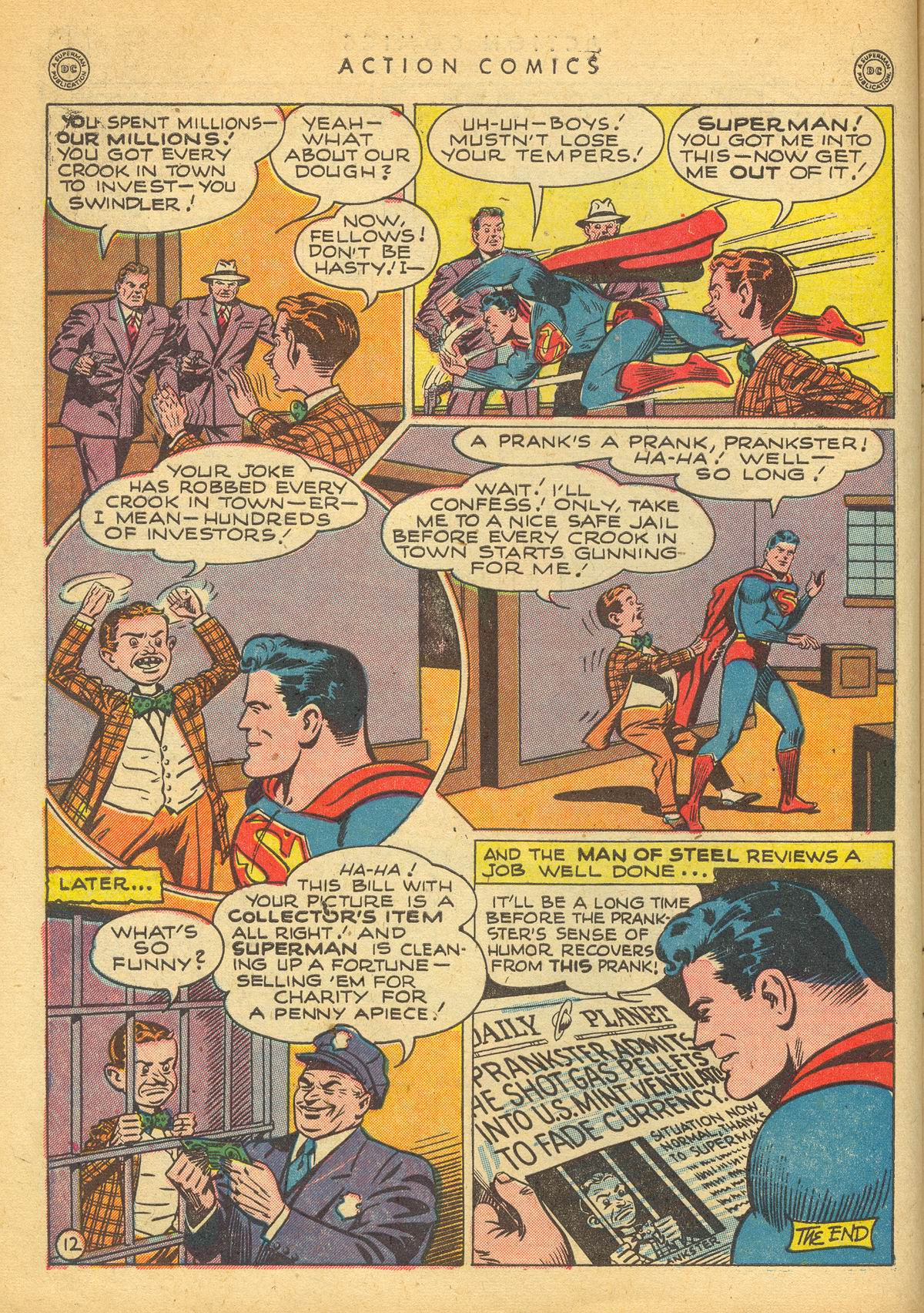 Read online Action Comics (1938) comic -  Issue #109 - 14