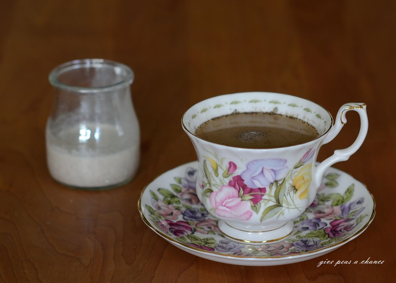 Give peas a chance non dairy creamer paleo coffee frappe non dairy creamer paleo coffee frappe malvernweather Choice Image
