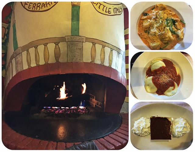 Ferrari's Little Italy and Bakery Tortellini Florentine Cheese Ravioli Tiramisu