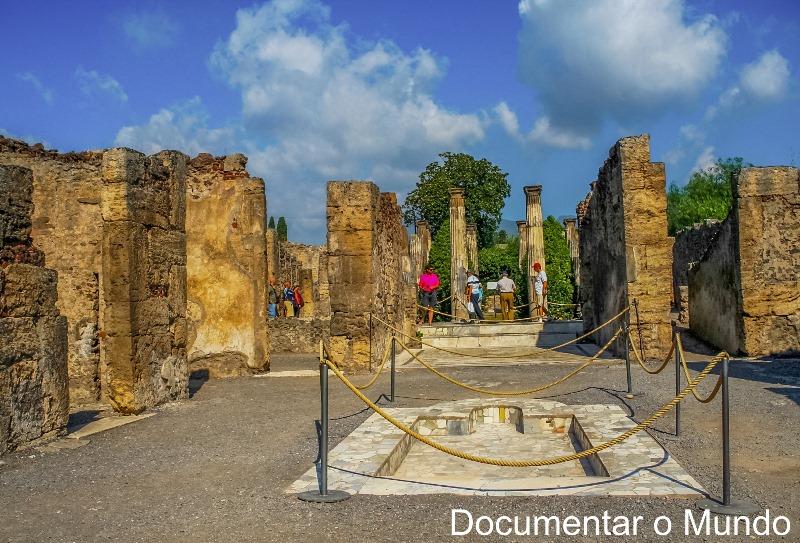 Casa de Pansa, Pompeia, Itália