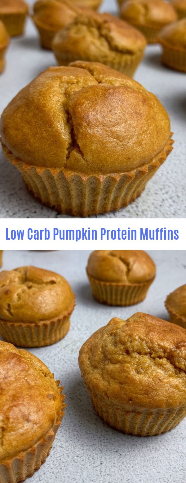 Low Carb Pumpkin Protein Muffins