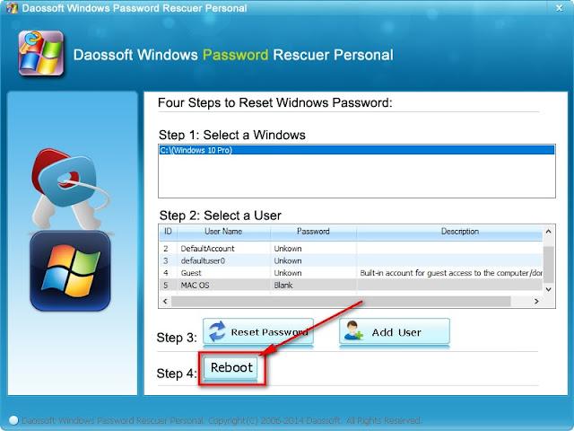 Phá mật khẩu Windows 10