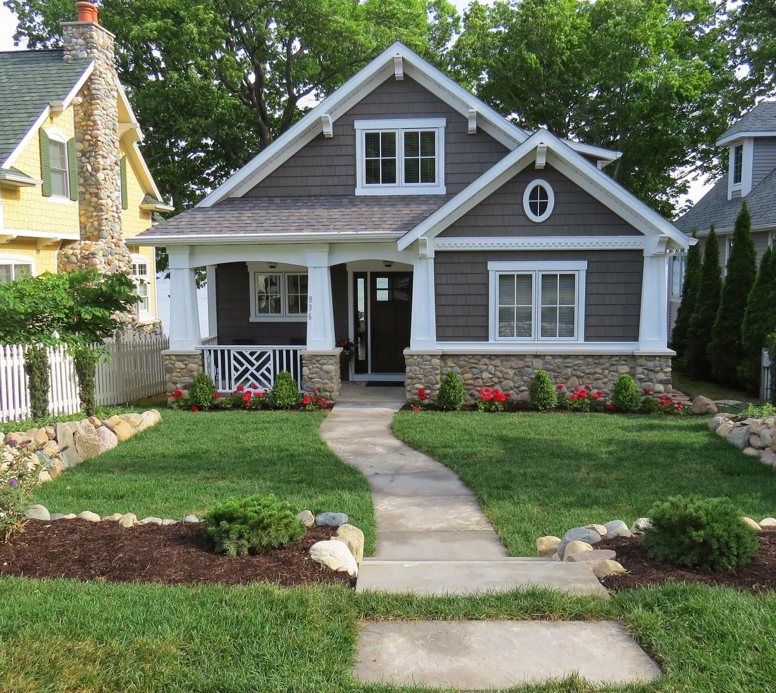 23+ Amazing Landscaping Around House Inspirations