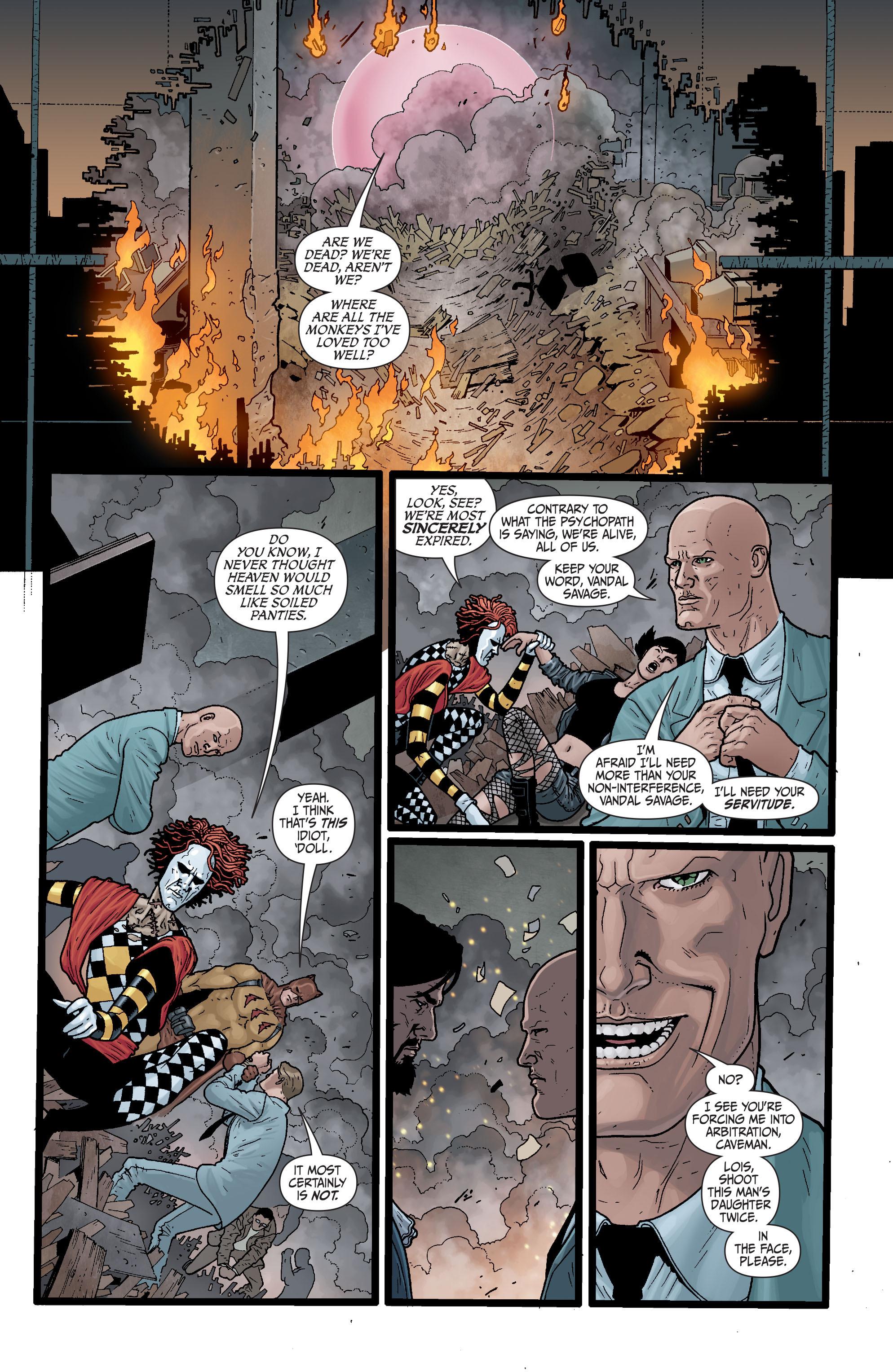 Read online Secret Six (2008) comic -  Issue #29 - 15