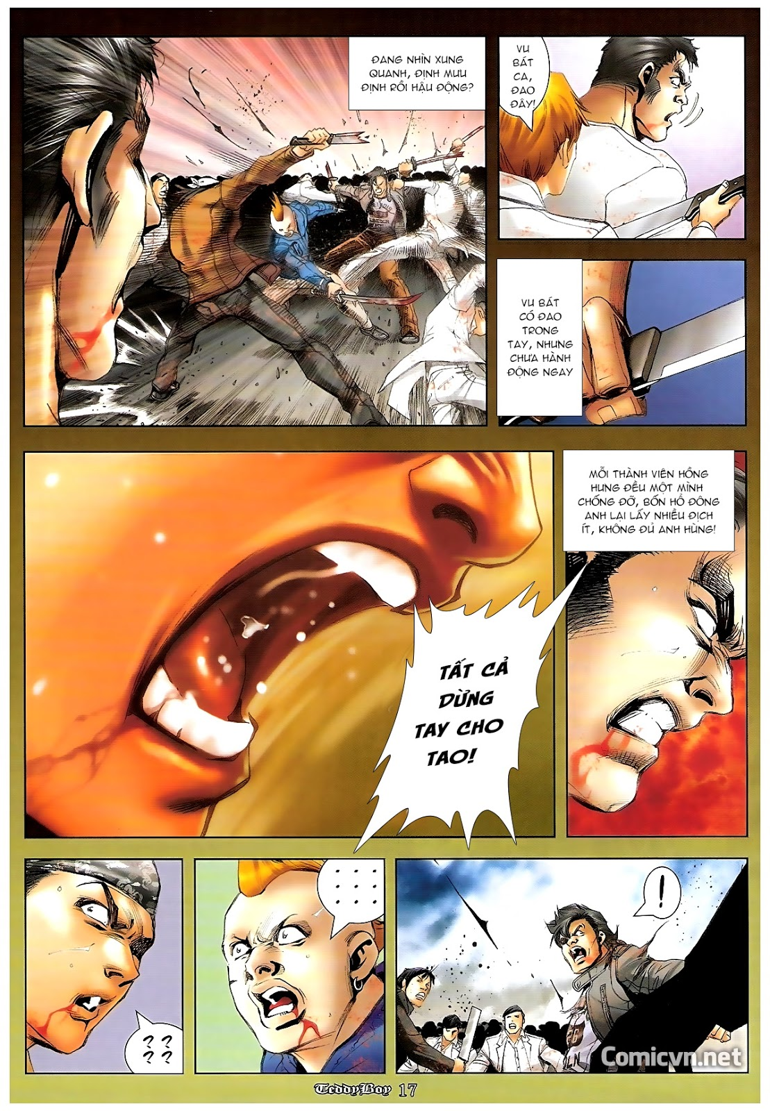 Người Trong Giang Hồ - Chapter 1227: Thái Tử Chung Cực Chiến - Pic 15