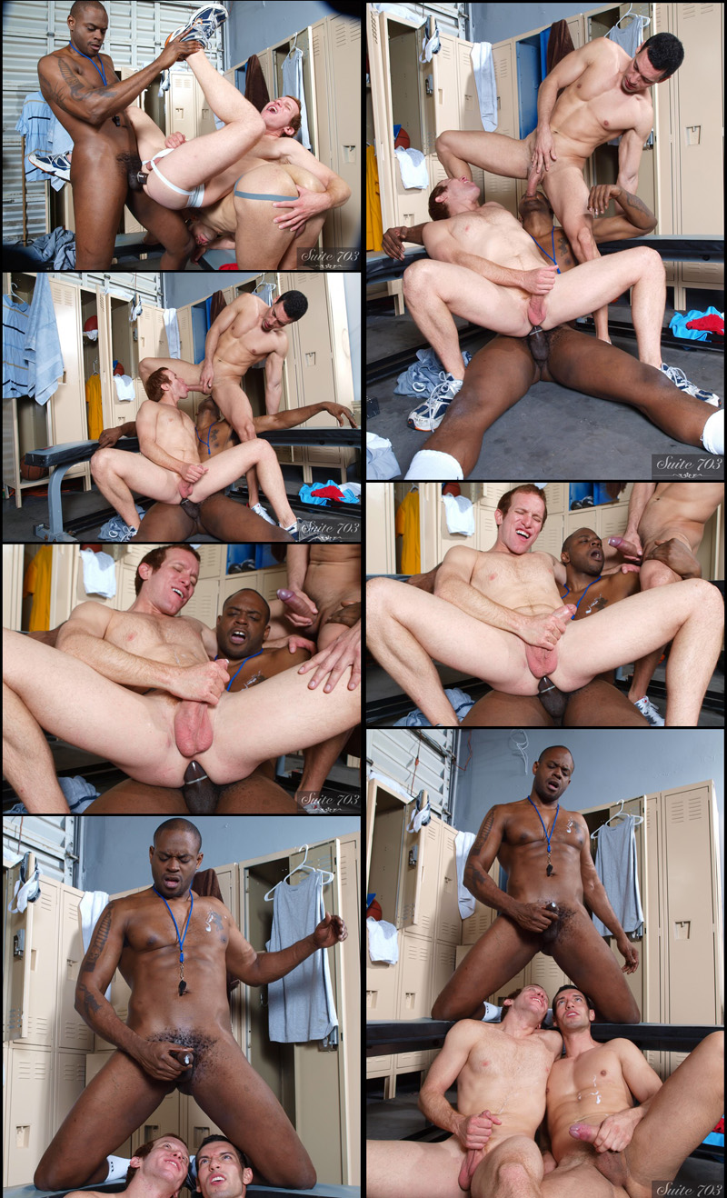 Alexander Garrett, Diesel Washington and Steven Ponce in Hot Jocks Nice Cocks