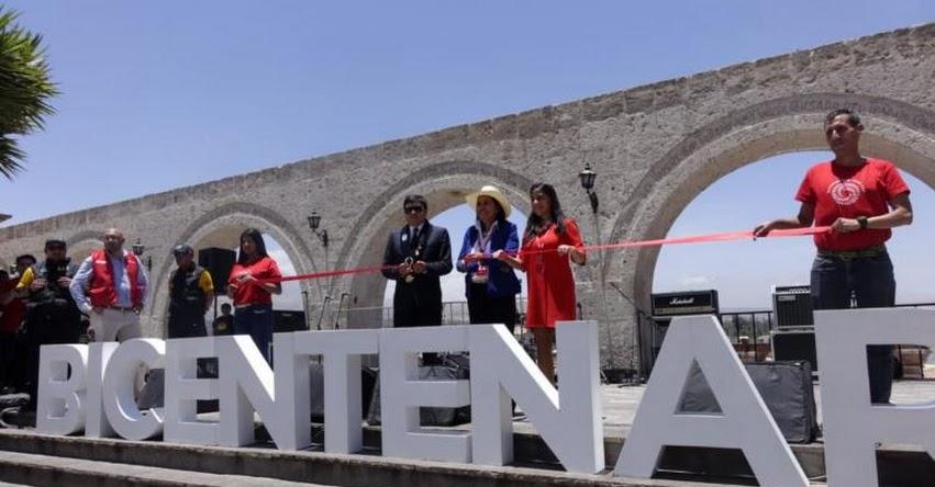 MINEDU: Ministra de Educación inaugura en Arequipa Semana Bicentenario