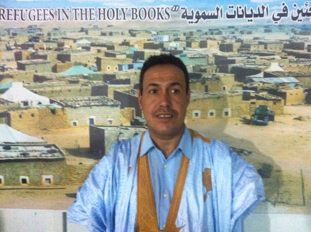 امين عام اتحاد الشبيبة الصحراوية :اربعة عقود من صبر اللاجئين الصحراويين كافية للدلالة على عظمة الشعب الصحراوي وقدرته على افتكاك النصر