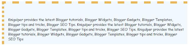 Blogger Blockquote widget style 5