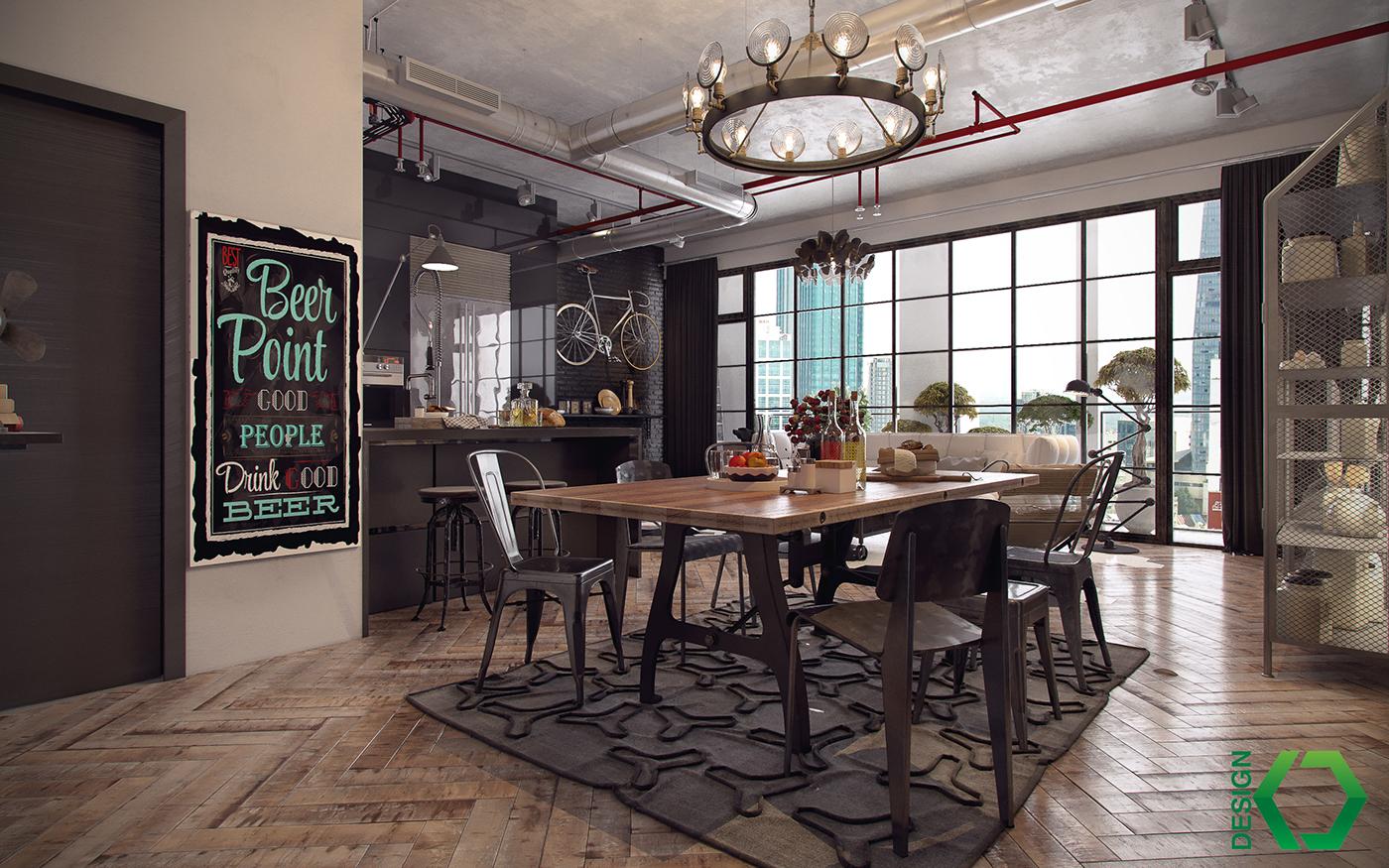 Cozinhas E Salas H Cozinhas Ideais Como Harmonizlas Com O Feng Shui  -> Casa Sala De Tv Sala De Jantar A Fazenda