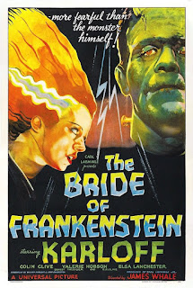 The Bride of Frankstein poster