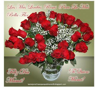 Frases Día De La Madre: Las Mas Bellas Rosas Para La Mas Bella Flor