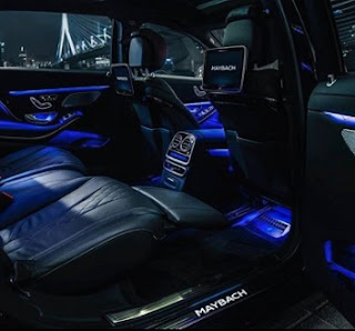 interior mercedes maybach exelero