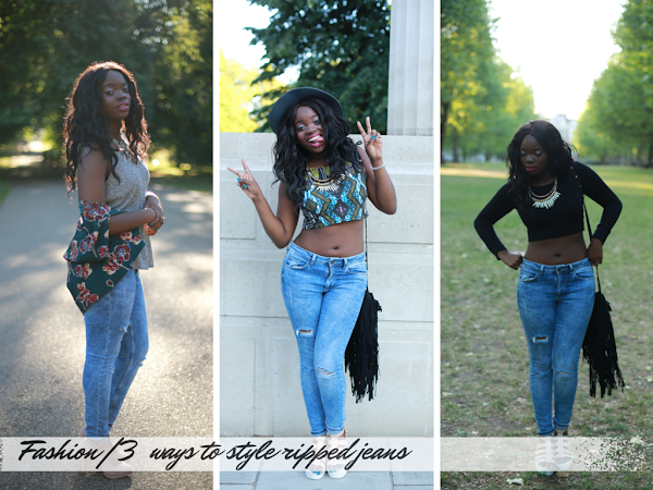 FASHION| THREE WAYS TO STYLE RIPPED JEANS FEATURING NEW LOOK