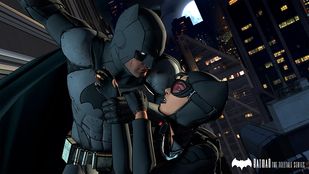 Batman - The Telltale Series Screenshot Batman and Catwoman