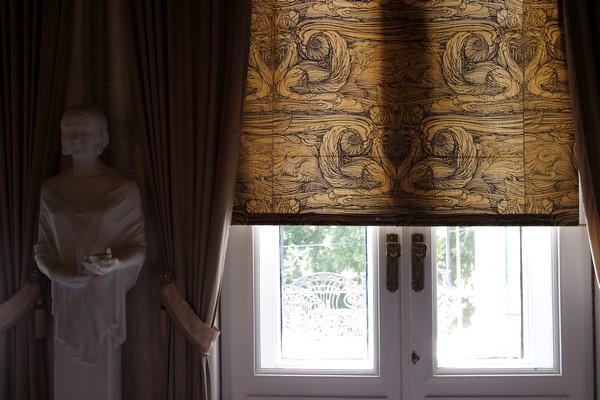 vienna vienne otto wagner villa ernst fuchs museum hütteldorf penzing grand salon parlor