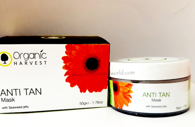 Organic Harvest Anti Tan Mask Review
