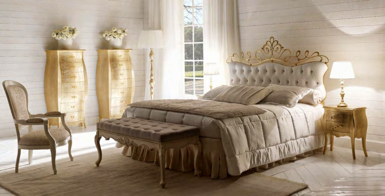 Design interior mobila dormitor de lux Italia - Design Interior | Amenajari interioare - Bucuresti | Mobila Italiana | mobilier dormitor italia | Dormitor Italia Pat Glamour art.6060