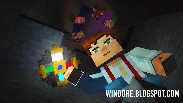 Dapatkan Minecraft Story Mode Gratis di Windows Sekarang !