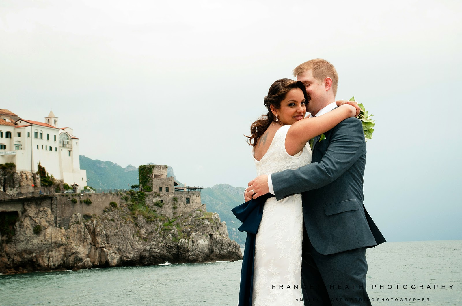 Wedding portrait in Amalfi