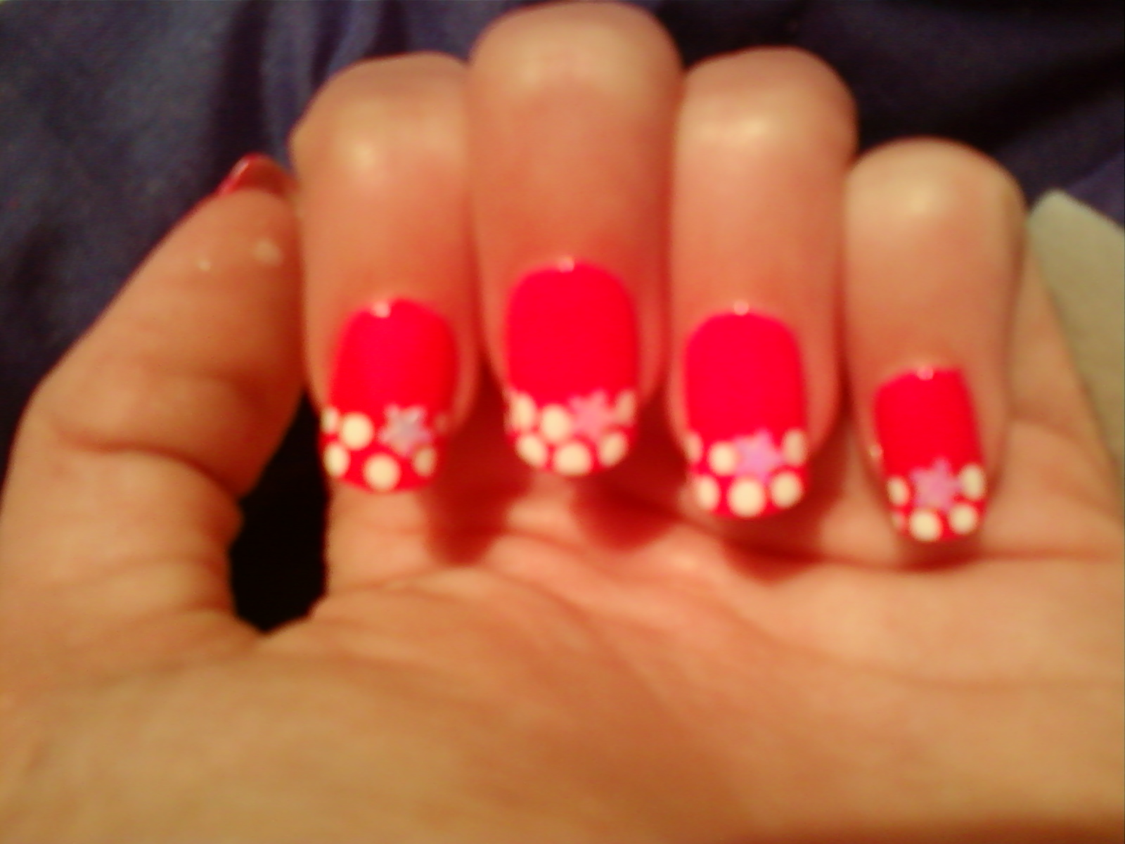 Kiely Nail Art: Neon Pink Nails