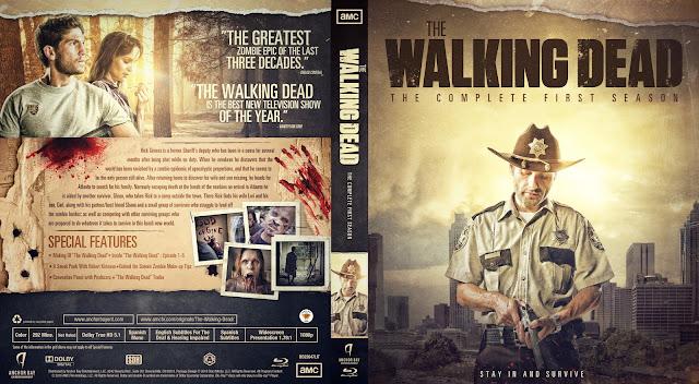 The Walking Dead Season 1 Bluray Cover