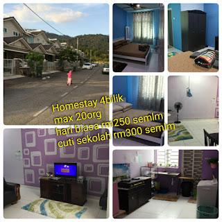 homestay 4 bilik langkawi