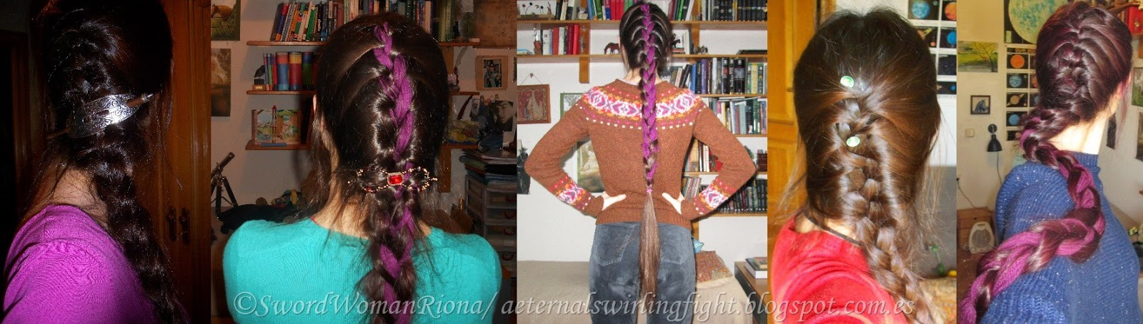 A Sword-woman's Natural Hair blog: Hairstyles - French braids