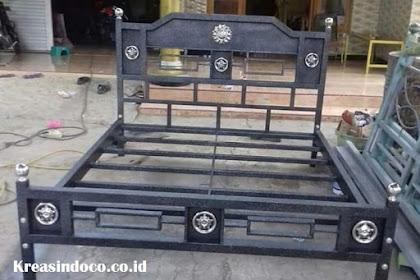Jasa Pembuatan Ranjang Besi Minimalis di Bandung dan Sekitarnya