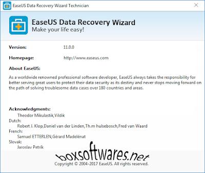 EaseUS Data Recovery Wizard 11Full Key โปรแกรมกู้คืนข้อมูล ฮาร์ดไดรฟ์ USB