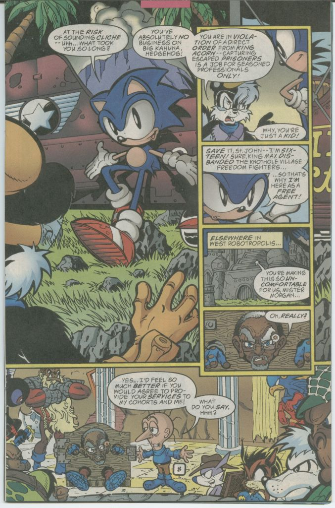Read online Sonic The Hedgehog comic -  Issue #70 - 11