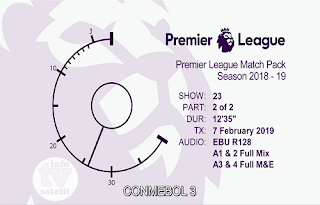 EPL Premier League Match Pack AsiaSat 5 Biss Key 8 February 2019