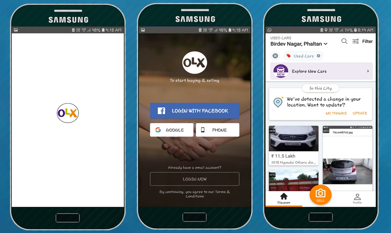 OLX: Buy & Sell - Apps On Apk Badshah - Download All Android Popular