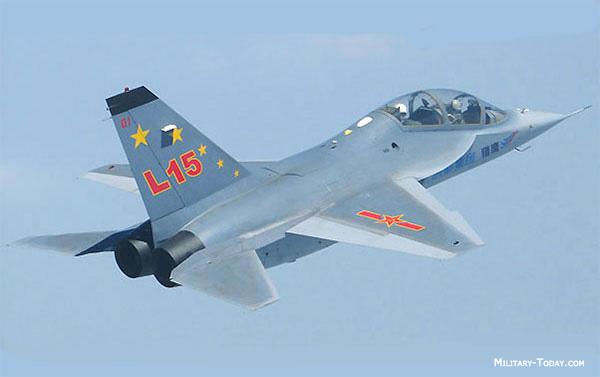 Image Attribute: Hongdu L-15 in flight / Source: Military-Today.com