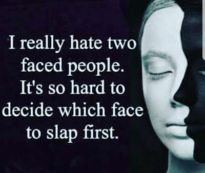 hate Two Faced Friends Quotes