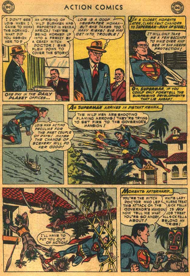 Read online Action Comics (1938) comic -  Issue #198 - 4