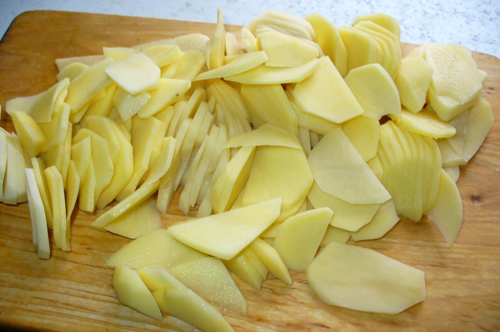 картофелья для мяса по французски