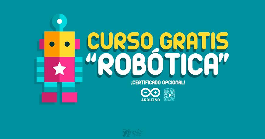 crea tu propio robot con este curso gratis