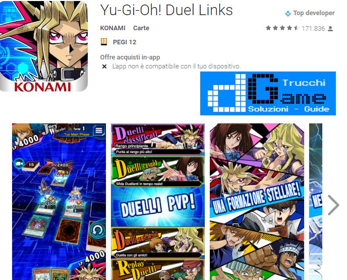 Trucchi Yu-Gi-Oh! Duel Links v1.1.1