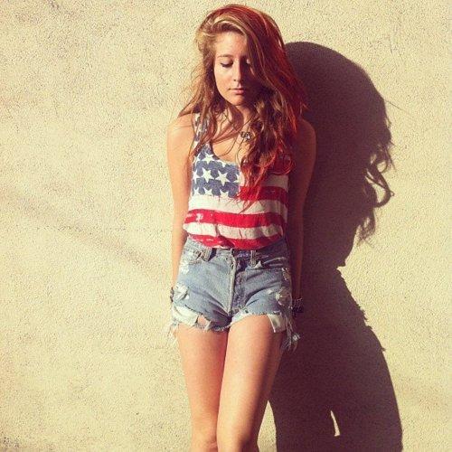 American Tween Girls Fashion: Teen Angel: AMERİKA VE İNGİLTERE BAYRAKLARI