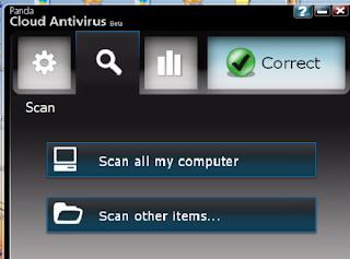 باند انتي فايرس المجاني Panda Cloud Antivirus