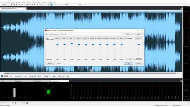 برنامج تسجيل وتحرير الصوت Sound Forge للكمبيوتر