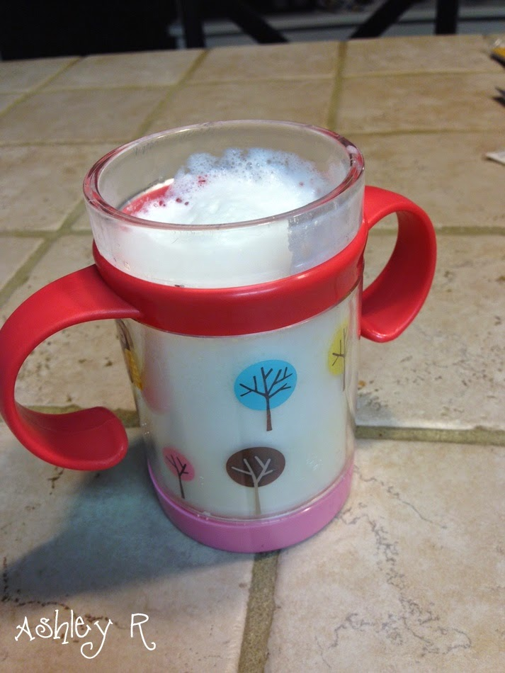 Learn A Starbucks Knockoff Recipe for Vanilla Milk Steamer...Foffee aka Fake Fluffy Coffee For Kids 7